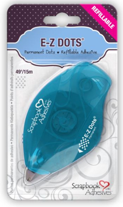 E-Z Dots Permanent Refillable Adhesive Dispenser by Scrapbook Adhesives - 49'