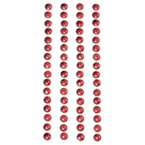 Cranberry 5mm Nailheads Metal Stickers by Mark Richards USA