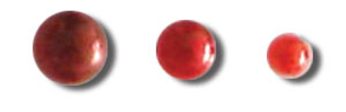 Shades of Red Self-Adhesive Pearls by Queen & Co. - Pkg. of 50