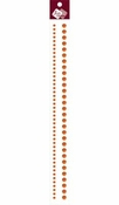 "Orange 12"" Rhinestone Strip by Zva Creative"