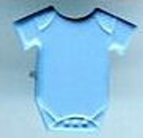 Baby Blue Onesie Brads by Eyelet Outlet - Pkg. of 12