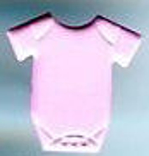 Baby Pink Onesie Brads by Eyelet Outlet - Pkg. of 12