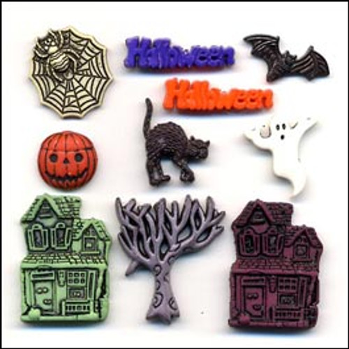 Haunted Hollow Buttons by Buttons Galore