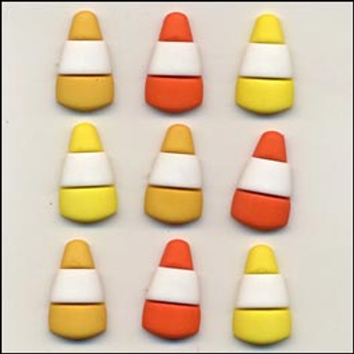 Candy Corn Buttons by Buttons Galore