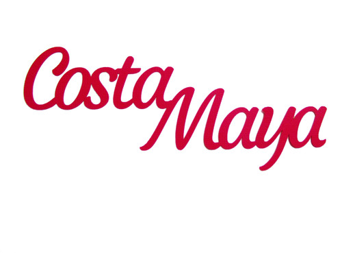 Costa Maya 3 x 8 Scrapbook Laser Cut by SSC Laser Designs
