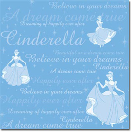 Disney Cinderella Collection Cinderella Tonal Paper by Sandylion