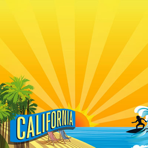 The State Line Collection California 12 x 12 Scrapbook Paper by Reminisce