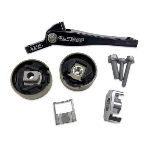 034Motorsport  Billet Spherical Dogbone Mount Performance Pack with Dogbone Pucks, Audi 8V A3/S3, 8S TT/TTS, and Volkswagen MkVII Golf/GTI/R