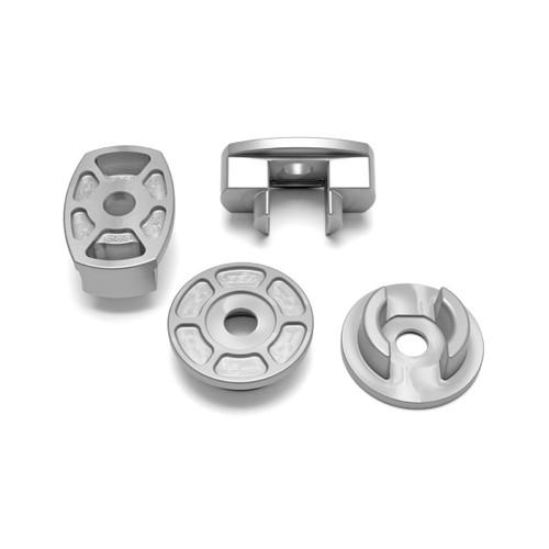 034Motorsport Billet Aluminum Rear Subframe Mount Insert Kit, B9 Audi A4/S4/A5/S5/RS5 & Allroad