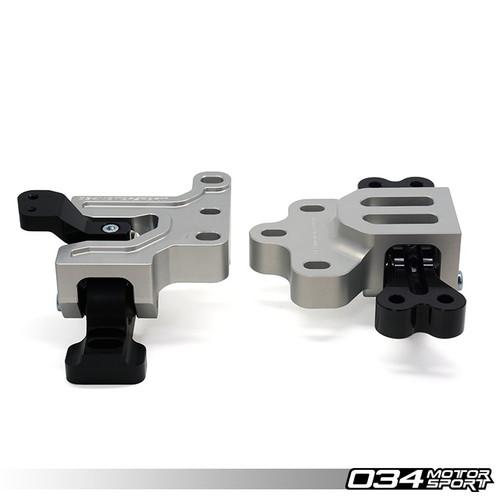 034Motorsport Motorsport Streetsport Engine/Transmission Mount Billet Aluminium Pair - Golf Mk5/6 & A3/TT 8J/8P 2.0T