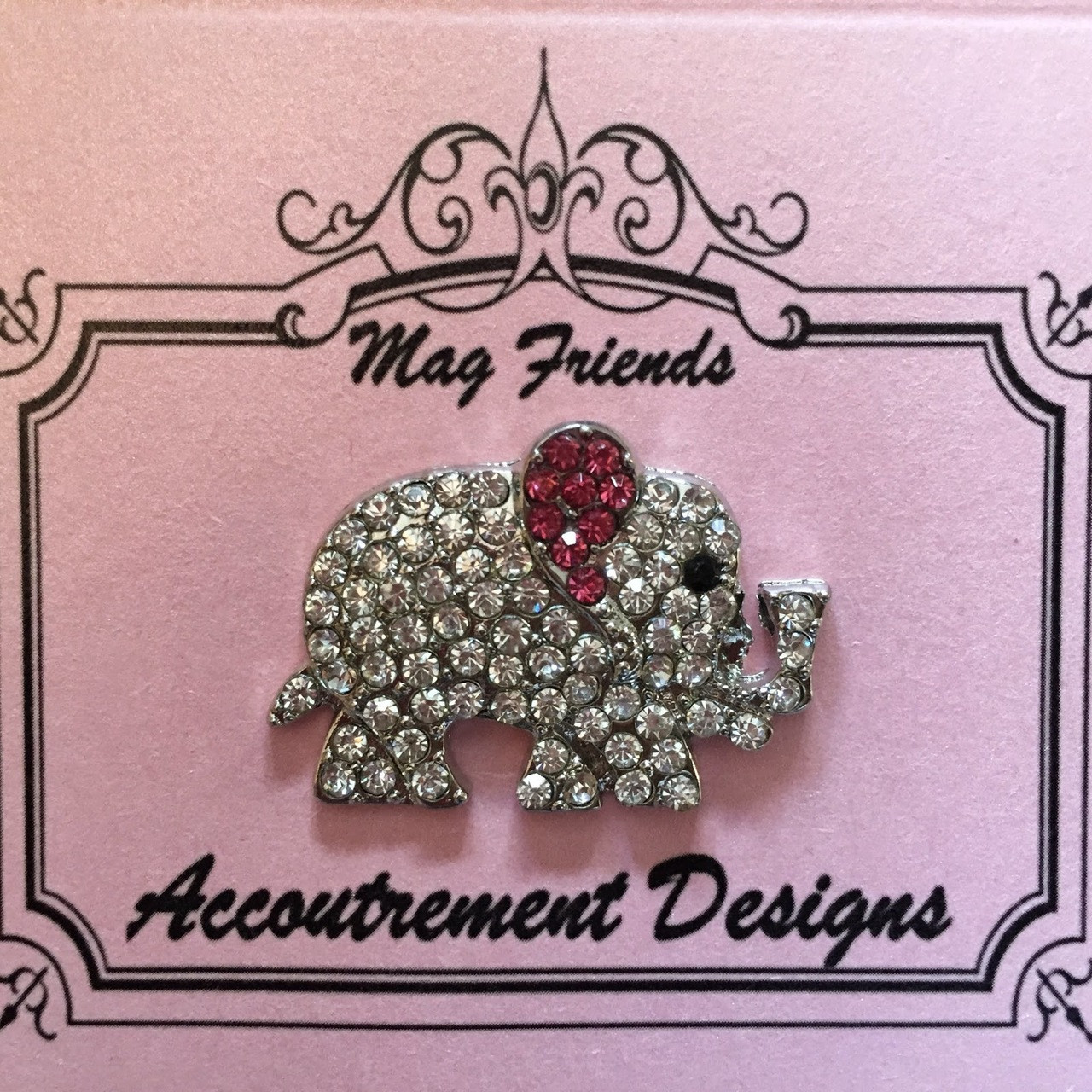 ed965f75f9c Elephant Clear Needle Minder Magnet Glamorous Accoutrement Designs - The  NeedleArt Closet