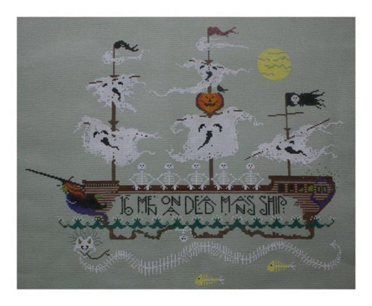 2aa6e62caa73 Cricket Collection by Vicki Hastings VH3604 - Skeleton Crew - The NeedleArt  Closet