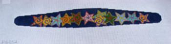 """Ann Wheat Pace 625A 20"""" x 6"""" 18 Mesh Camival Stars Headband"""