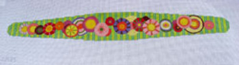 "Ann Wheat Pace 625B Sparkle Flowers Headband 20"" x 6"" 18 Mesh"
