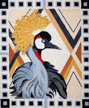 B333 Melissa Prince African Crane 10 x 12