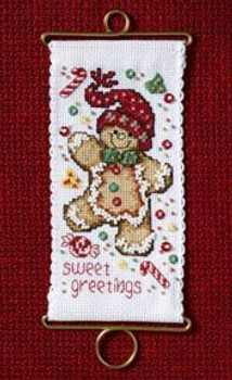 MH126304 Mill Hill Banding Kit Sweet Greetings Gingerbread (2006)