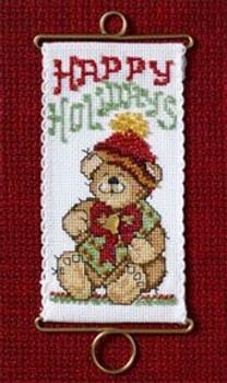 MH126303 Mill Hill Banding Kit Happy Holidays Bear (2006)