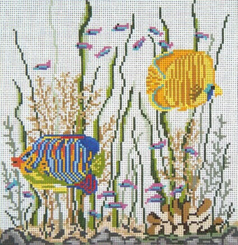 "#E-1406-13 Fish Eyes 13 Mesh - 9-1/2"" Square Needle Crossings"