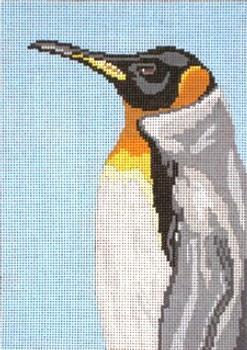"#1611 King Penguin 18 Mesh - 5"" x 7""Needle Crossings"
