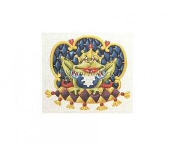 "TTAL104 Frog Prince #18 Mesh 10 1/2"" x 9"" Susan Roberts Needlepoint"