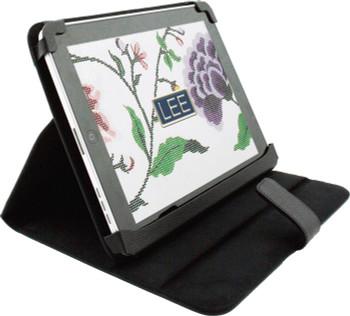 """BAG62BK Lee's Needle Arts Ipad Cover - Black - 8""""Wx10""""Hx1""""D"""