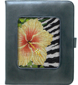 "BAG62GM Lee's Needle Arts Ipad Cover - Gunmetal - 8""Wx10""Hx1""D"
