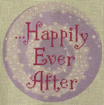 """LL148 Labors Of Love Happily Ever After 18Mesh 6"""" Round"""
