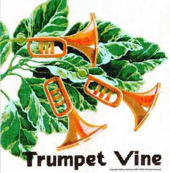 M-233 Trumpet Vine 14 x 14 13 Mesh Shorebird Studio