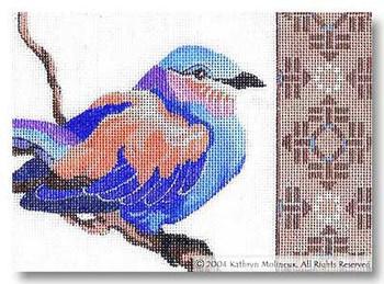 M-289 Lilac Roller 7 x 5 18 Mesh Shorebird Studio