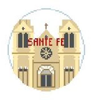 """BT197 Santa Fe Kathy Schenkel Designs  4"""" Diameter"""