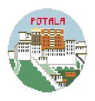 """BT297 Portala Palace Kathy Schenkel Designs  4"""" Diameter"""