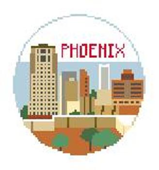 """BT220 Phoenix Round Kathy Schenkel Designs  4"""" Diameter"""