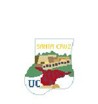 CM405S UC Santa Cruz Music Center, P Kathy Schenkel Designs 4 x 4 Mini Sock