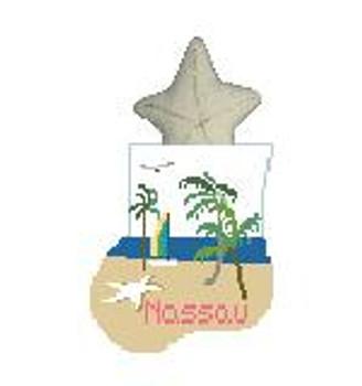 CM499B Nassau w/Starfish Kathy Schenkel Designs