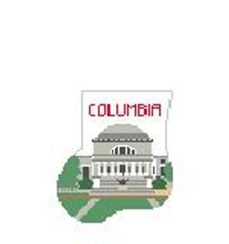 CM405H Columbia U Memorial Library Kathy Schenkel Designs 4 x 4