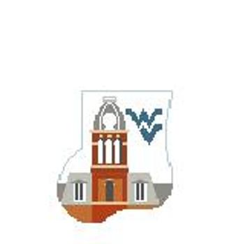 CM405M West Virginia Woodburn Hall Watson Kathy Schenkel Designs 4 x 4