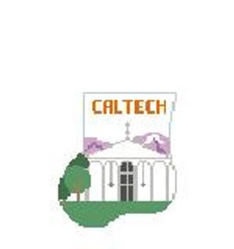 CM406W Caltech, Beckman Auditorium Kathy Schenkel Designs 4 x 4 Mini Sock