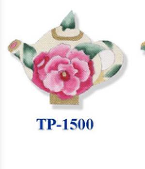 "TP-1500 Begonia 18 Mesh 6"" Teapot CBK Bettieray Designs"