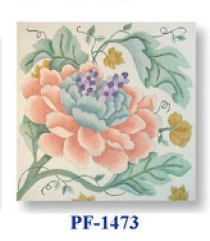 "PF-1473 Empress Mum Pinks 13 Mesh 12"" Flowers CBK Bettieray Designs"