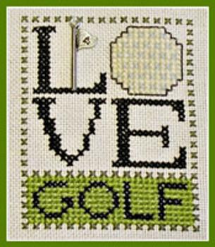 Love Golf (w/chm) by Hinzeit 31w x 41h 16-1166