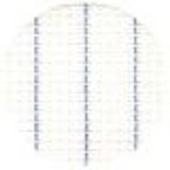 """Fabric White; Canvas - Waste; 13ct; 100% Cotton; Width 27"""""""