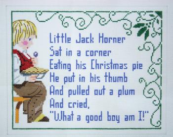 230 Little Jack Horner11 x 913 Mesh Silver Needle Designs