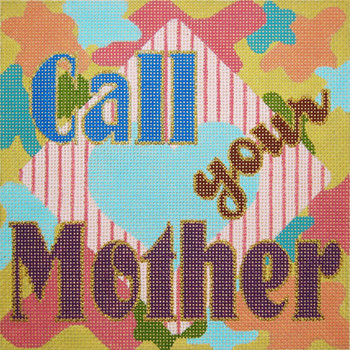 HO-01 Call Your Mother, Pastels 8 x 8 13 Mesh Anne of Green Gables™ Devon Nicholson Designs