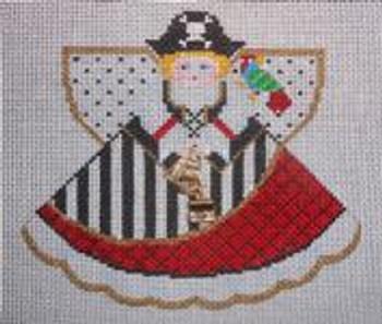PP-996HP Pirate's Life (dress)b18 Mesh 5.Angel 5.25x4.5 18 Mesh Painted Pony Designs!