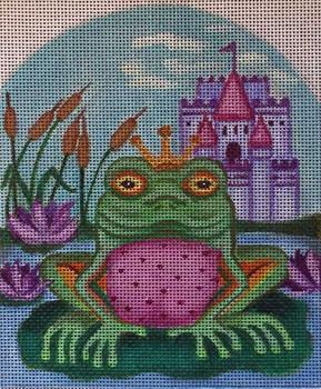 SC251 Frog Prince StandUp 5 x 6 Nenah Stone Designs 18 Mesh