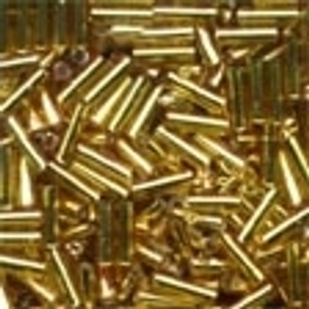 72011 Mill Hill Beads Bugle Victorian Gold