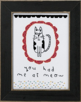 AW301612 Mill Hill Amylee Weeks ou Had Me at Meow