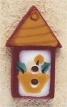"43190 Debbi Mumm Button Country Lantern; 1/2"" x 7/8""    2 Pieces"