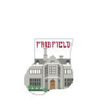 CM409P Fairfield University 4 x 4 Kathy Schenkel Designs
