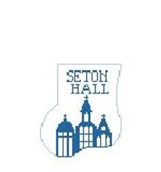 CM409M Seton Hall 4 x 4 Kathy Schenkel Designs
